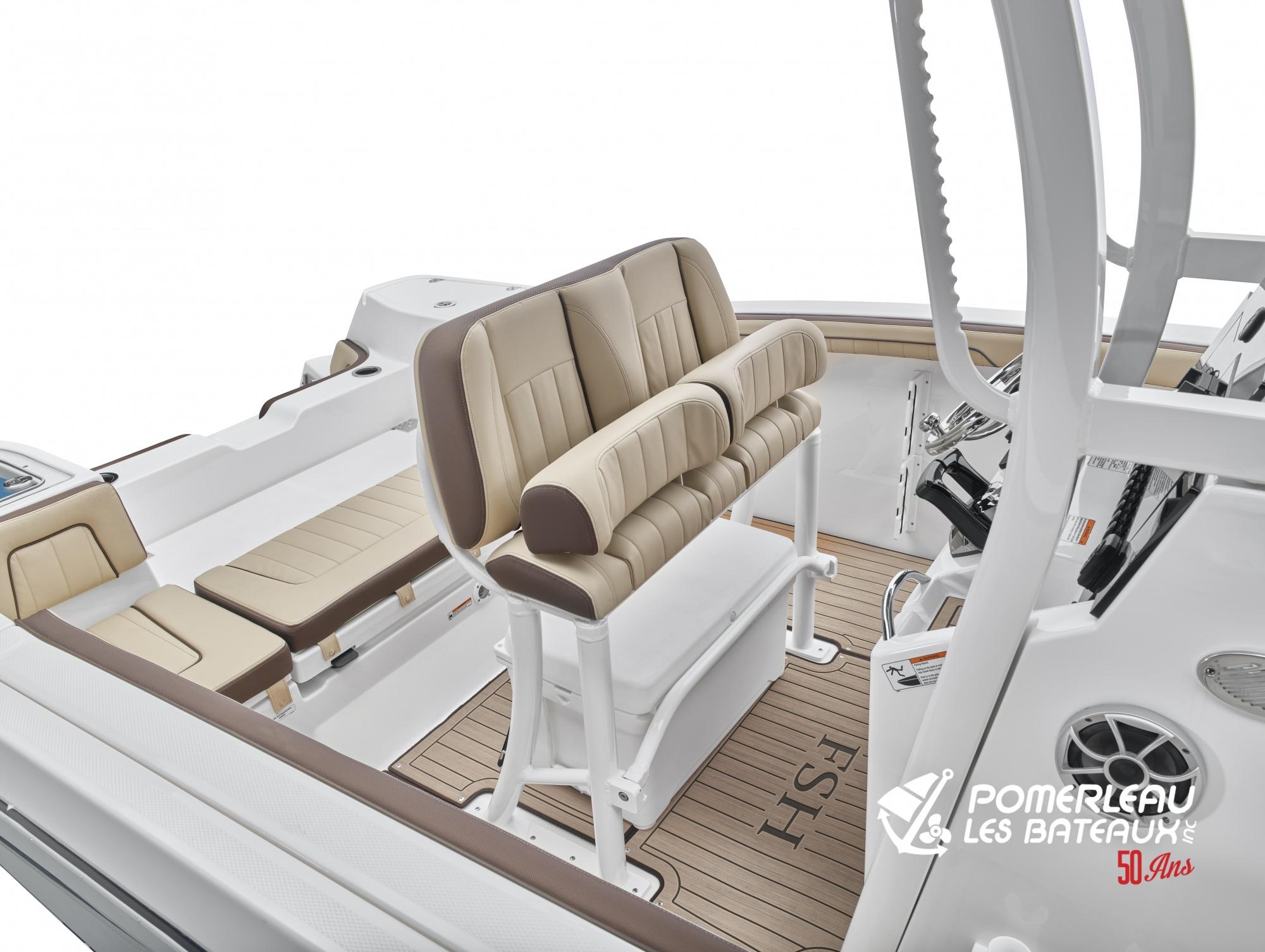 Yamaha 255 FSH SportE - 2021_255FSHSportE_Detail_Captain Seat-2