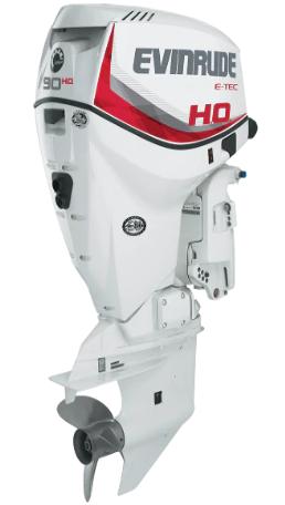Evinrude 90HP E-TEC H.O. - 90ho