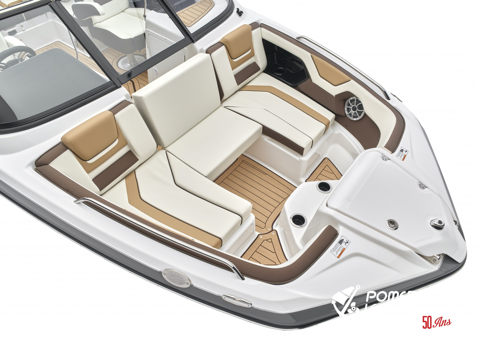 Yamaha 212 SD - 2021_212SD_Detail_Bow Seating-3