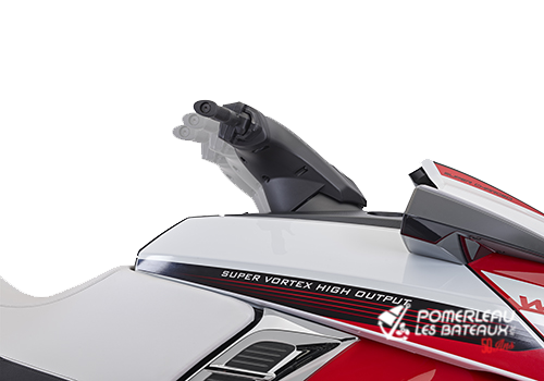 Yamaha FX SVHO - 2018-FX-SVHO-Red-Steering-1