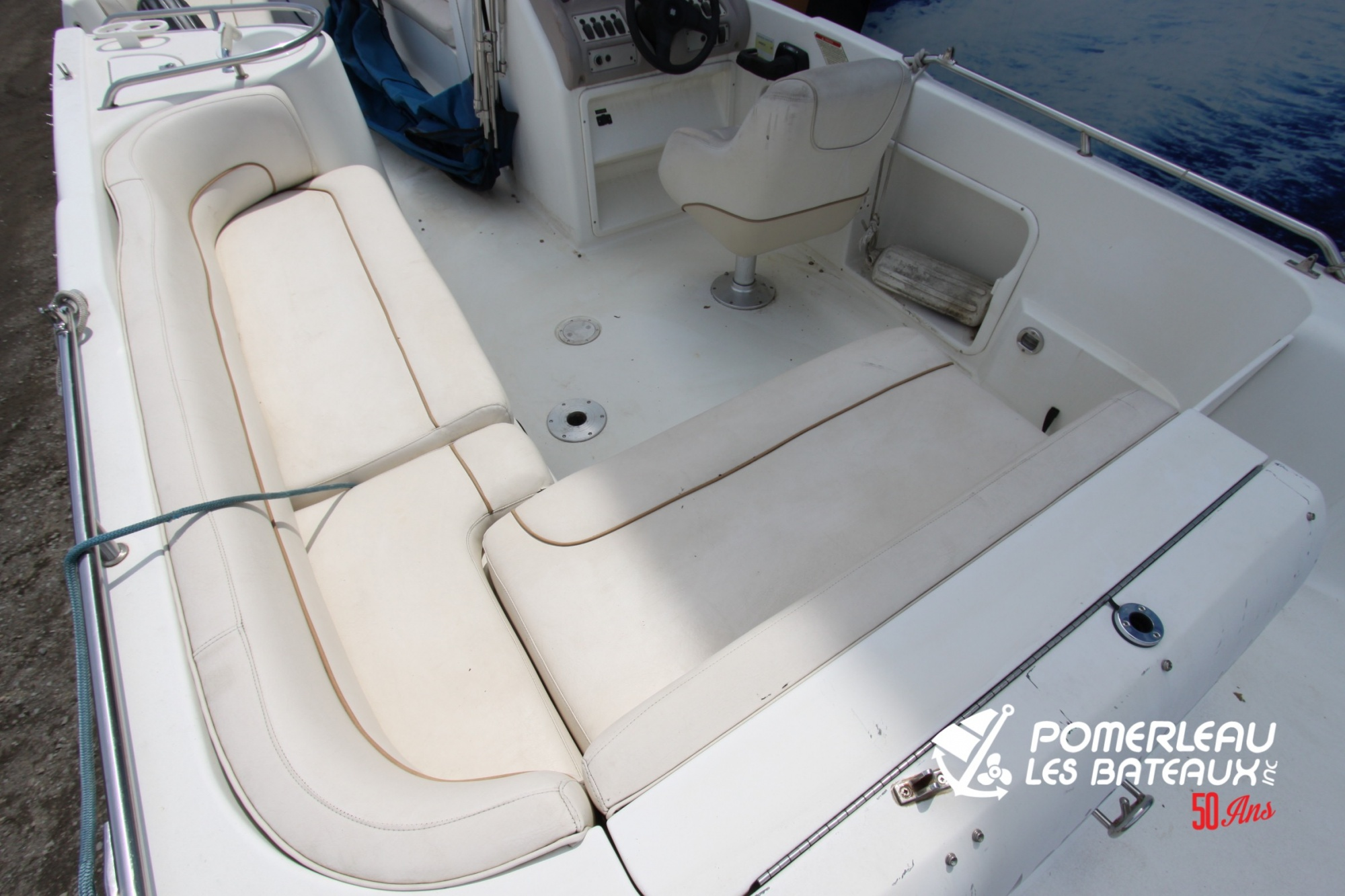Searay Sundeck 250 - IMG_7171