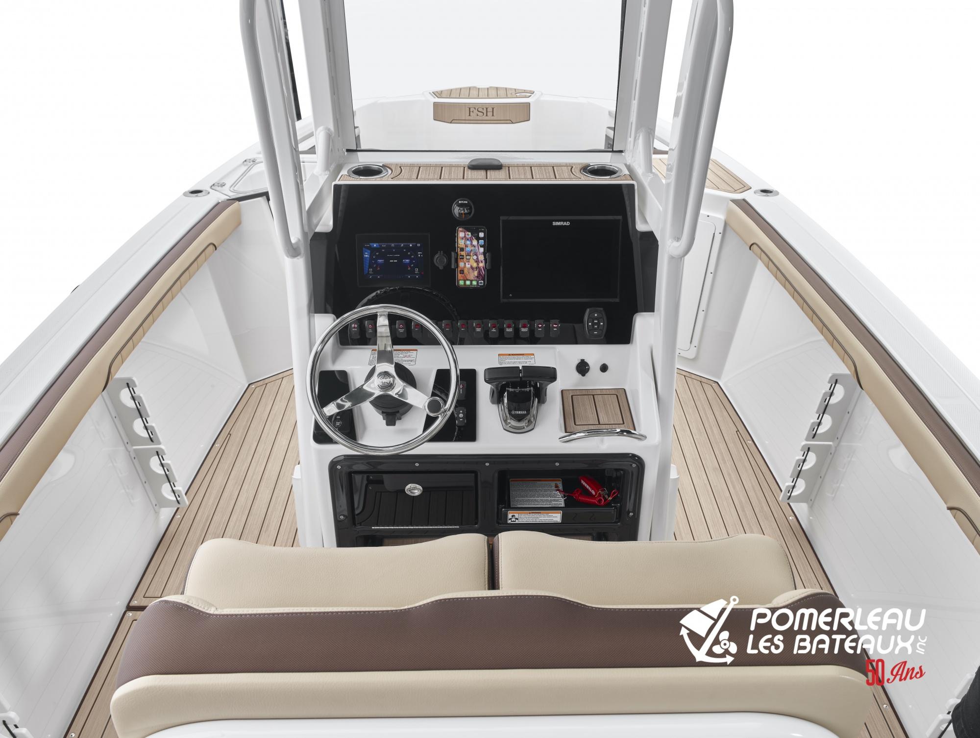 Yamaha 255 FSH SportE - 2021_255FSHSportE_Detail_Helm-screen1