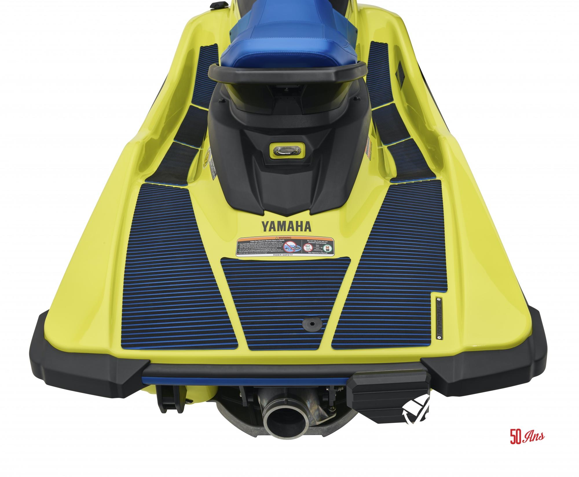 Yamaha EX Deluxe - 2021_EXDeluxe_Yellow_Detail_HydroTurf