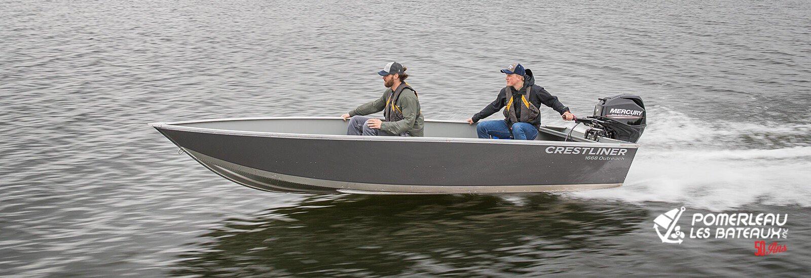 Crestliner 1668 Outreach - boat-main_151252