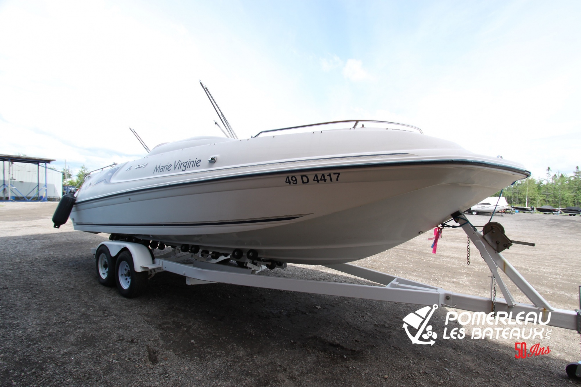 Searay Sundeck 250 - IMG_7164
