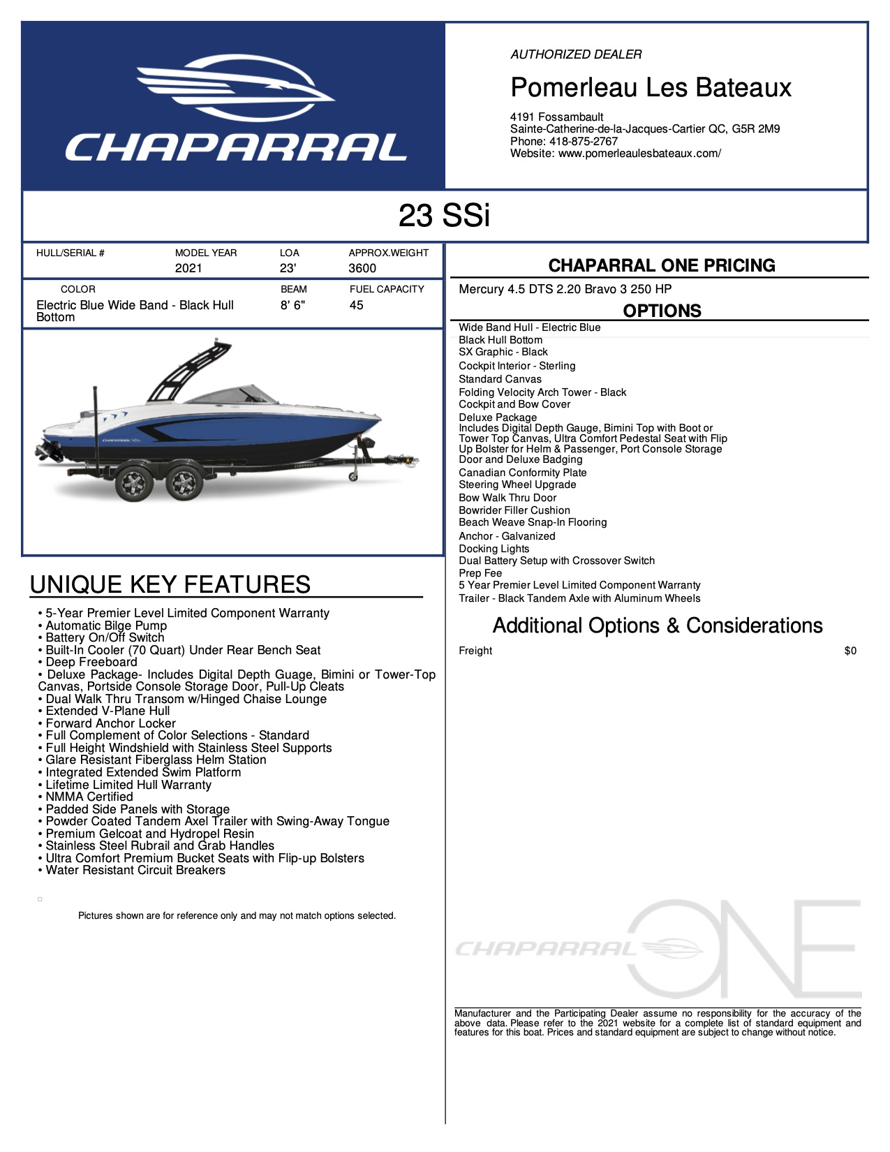 Chaparral 23 SSi - Chaparral-Boats-2021-23--Window-Sticker-300804 (1)