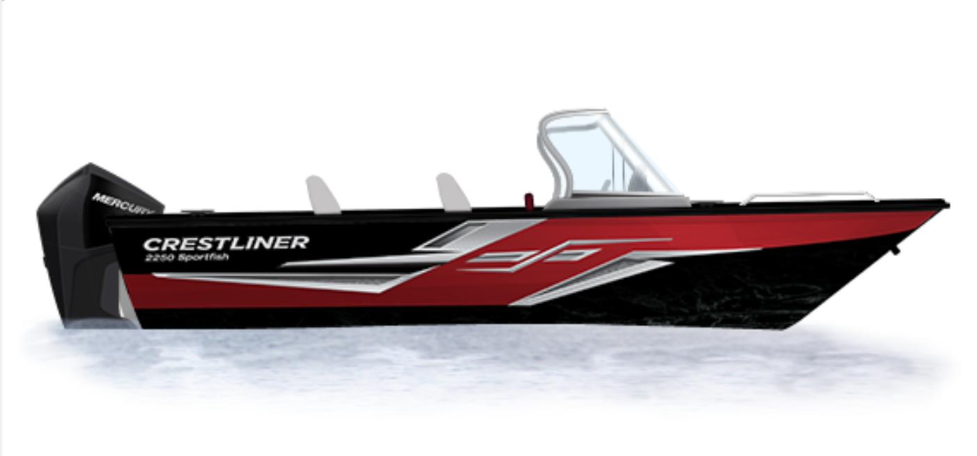 Crestliner Sportfish 2250 - 2250
