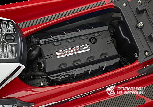 Yamaha FX SVHO - 2018-FX-SVHO-Red-Engine