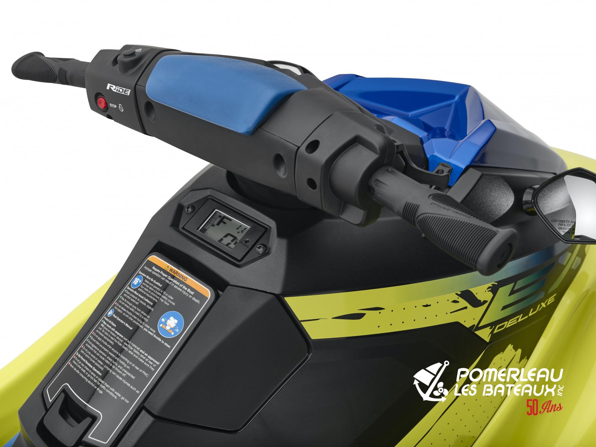 Yamaha EX Deluxe - 2021_EXDeluxe_Yellow_Detail_Instrumentation