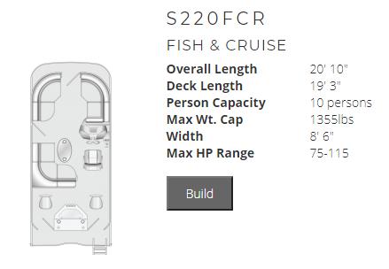 South Bay 220FCR - F220FCR