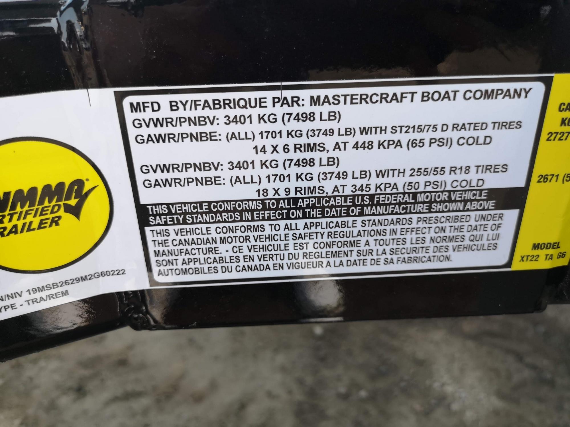 Mastercraft XT 22 - IMG_20210519_135120