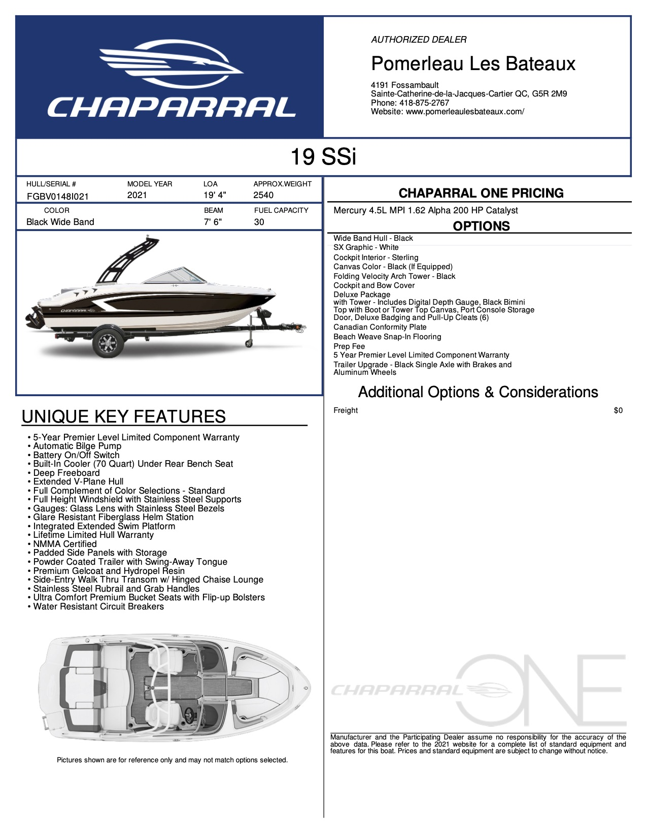 Chaparral 19 SSI - Chaparral-Boats-2021-19--Window-Sticker-291595 (1)