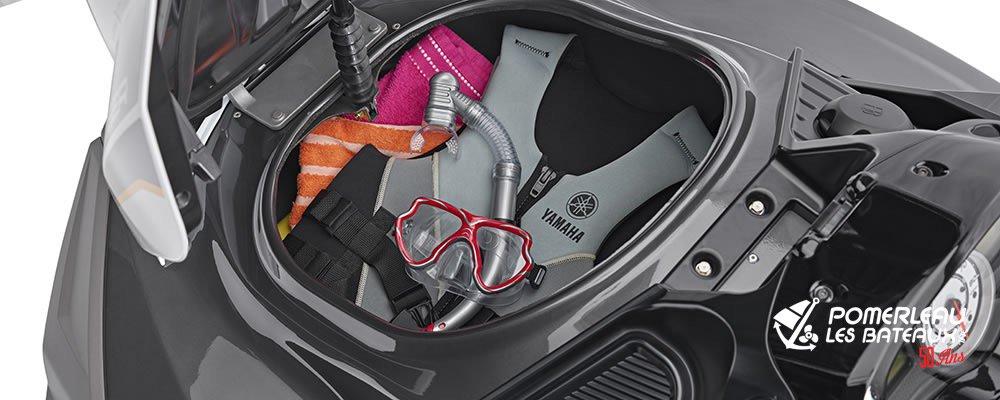 Yamaha FX Cruiser HO - 2018-FX-Cruiser-HO-Gray-Deck-Storage