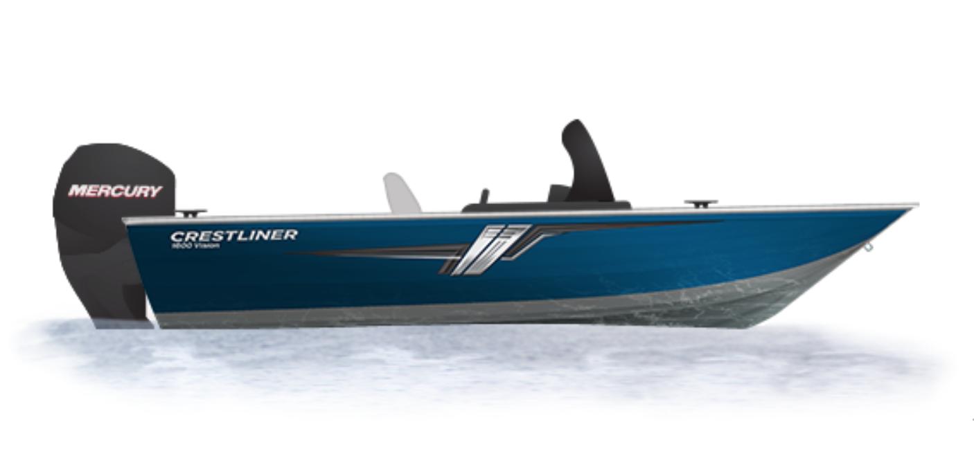 Crestliner Vision 1600 - 1600 bleu