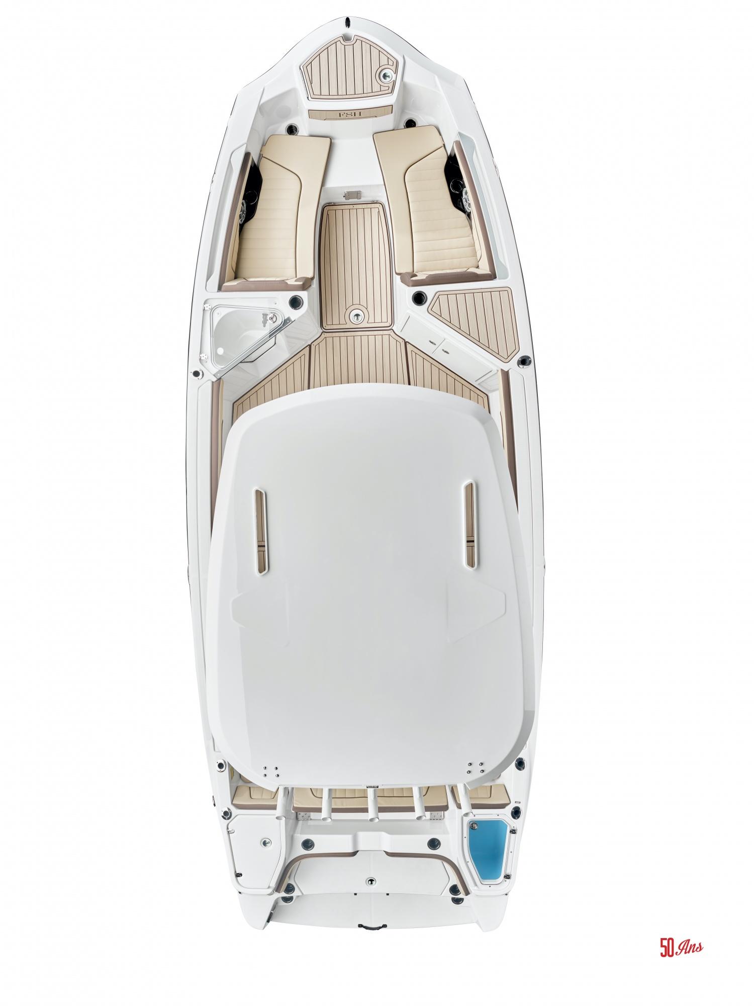Yamaha 255 FSH SportE - 2021_255FSHSportE_Detail_Overhead