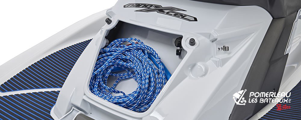 Yamaha FX HO - 2018-FX-HO-White-Rear-Storage