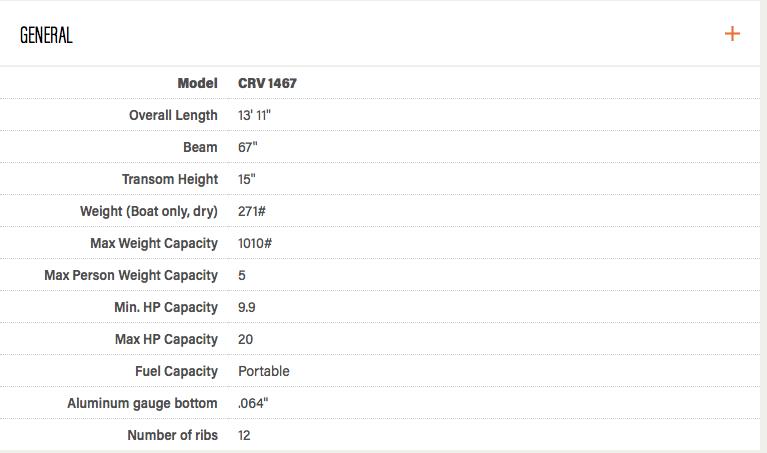 Crestliner 1457 CRV - Capture d'écran 2017-04-01 à 17.40.31