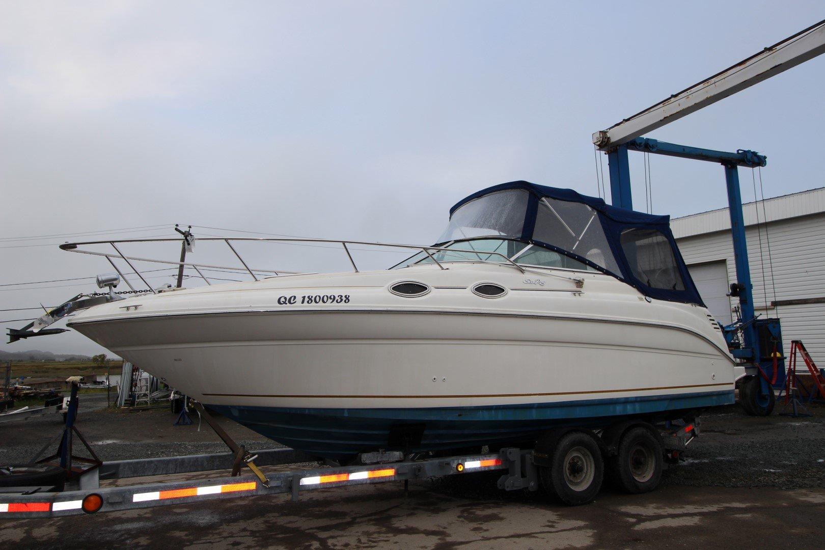 Sea Ray SunDancer 260 - IMG_2303