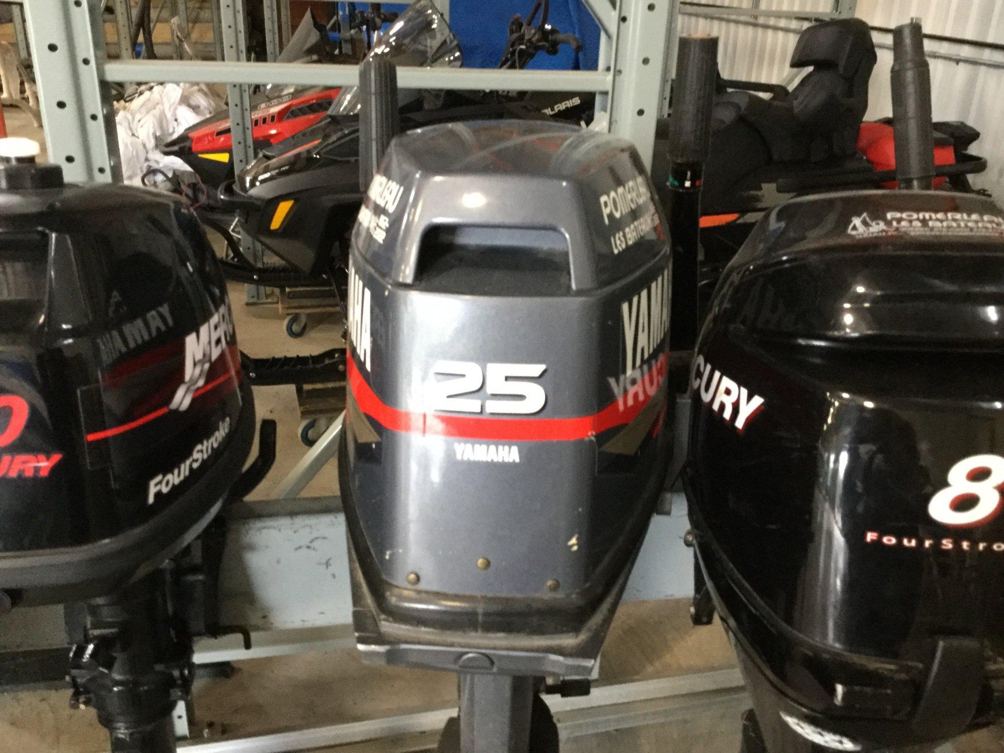 Yamaha 25 Tiller - IMG_1641