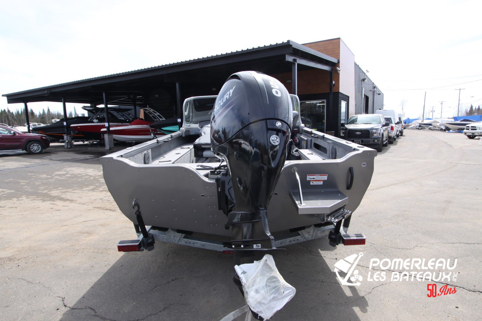 Crestliner Fish Hawk 1850 Platinum - IMG_2282