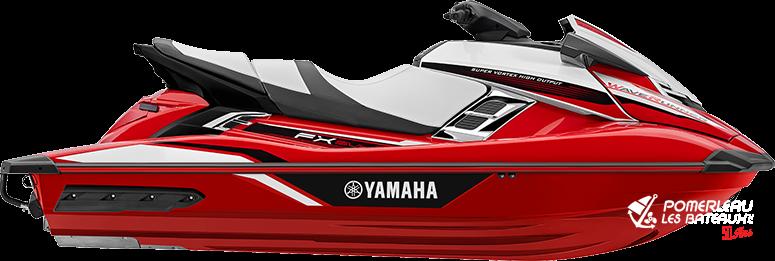 Yamaha FX SVHO - 2018-FX-SVHO-Red_1