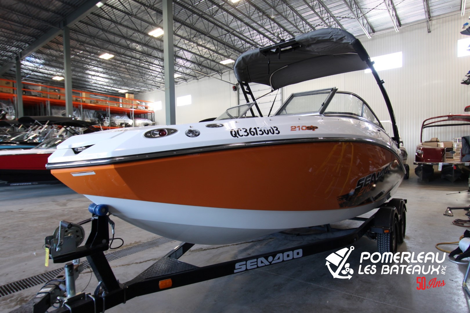 BRP Sea doo Challenger 210 - IMG_7856