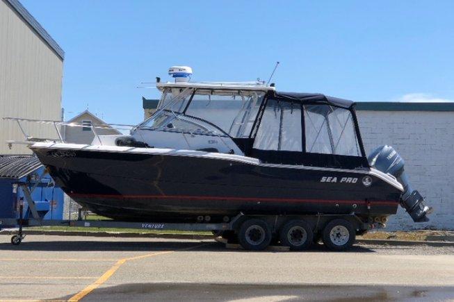 Sea Pro 250 Walkaround