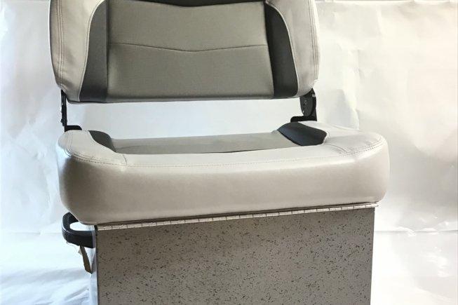 Crestliner seat with storage