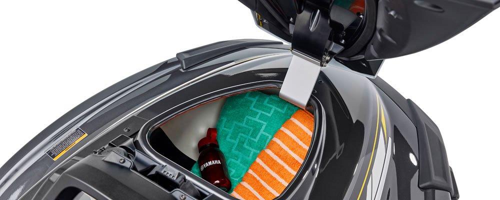 Yamaha VX Cruiser - 2017_VX_Cruiser-Carbon-Deck_Storage_01