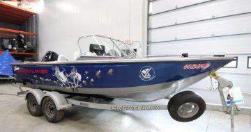 bateau de peche crestliner 1600 fish hawk sc