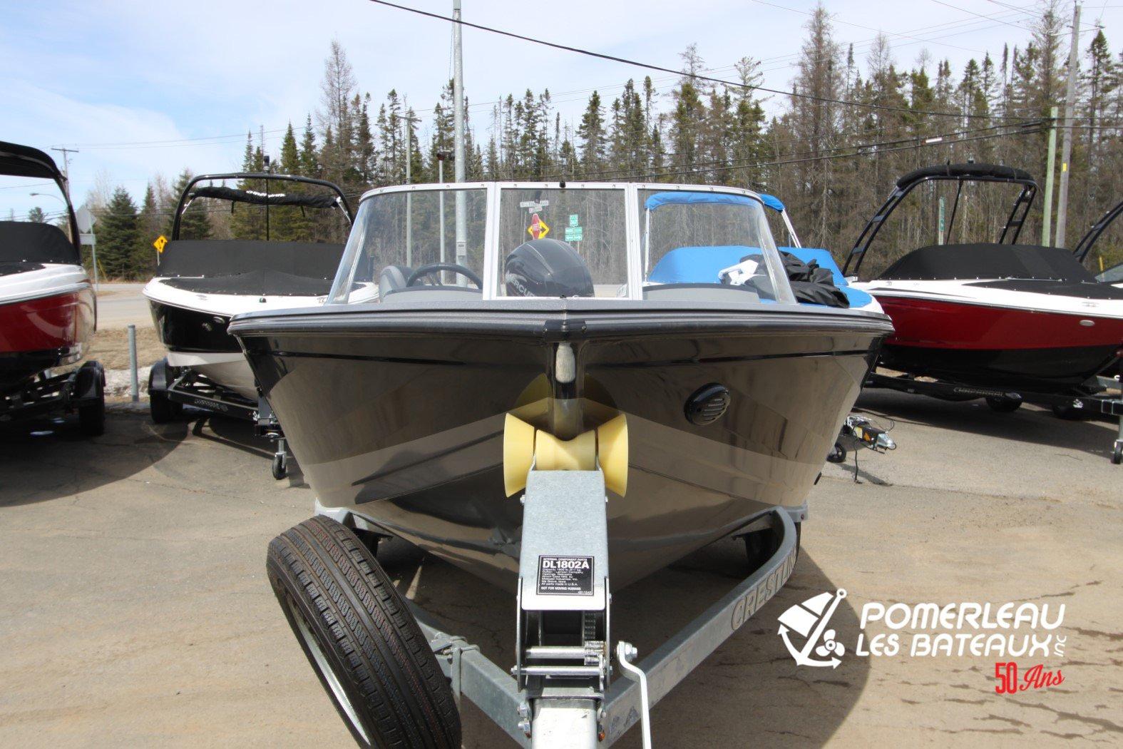 Crestliner Fish Hawk 1850 Platinum - IMG_2286