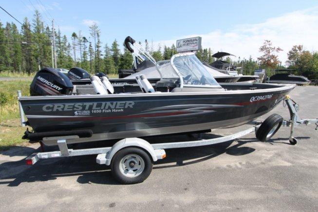 Crestliner Fishhawk 1650 WT