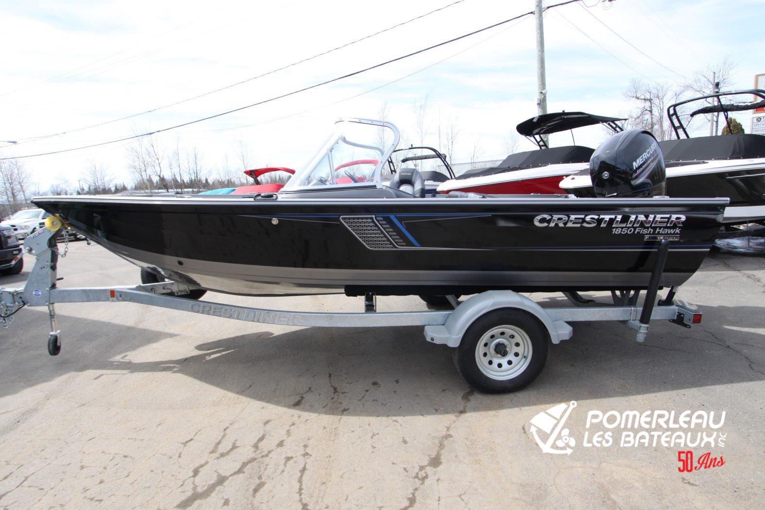 Crestliner Fish Hawk 1850 Platinum - IMG_2281