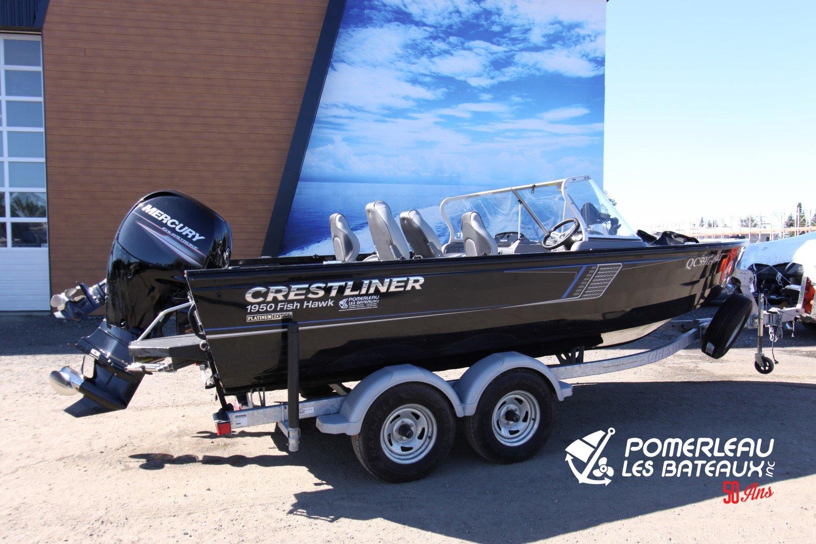 Crestliner Fish hawk 1950 Platinum WT - IMG_5702