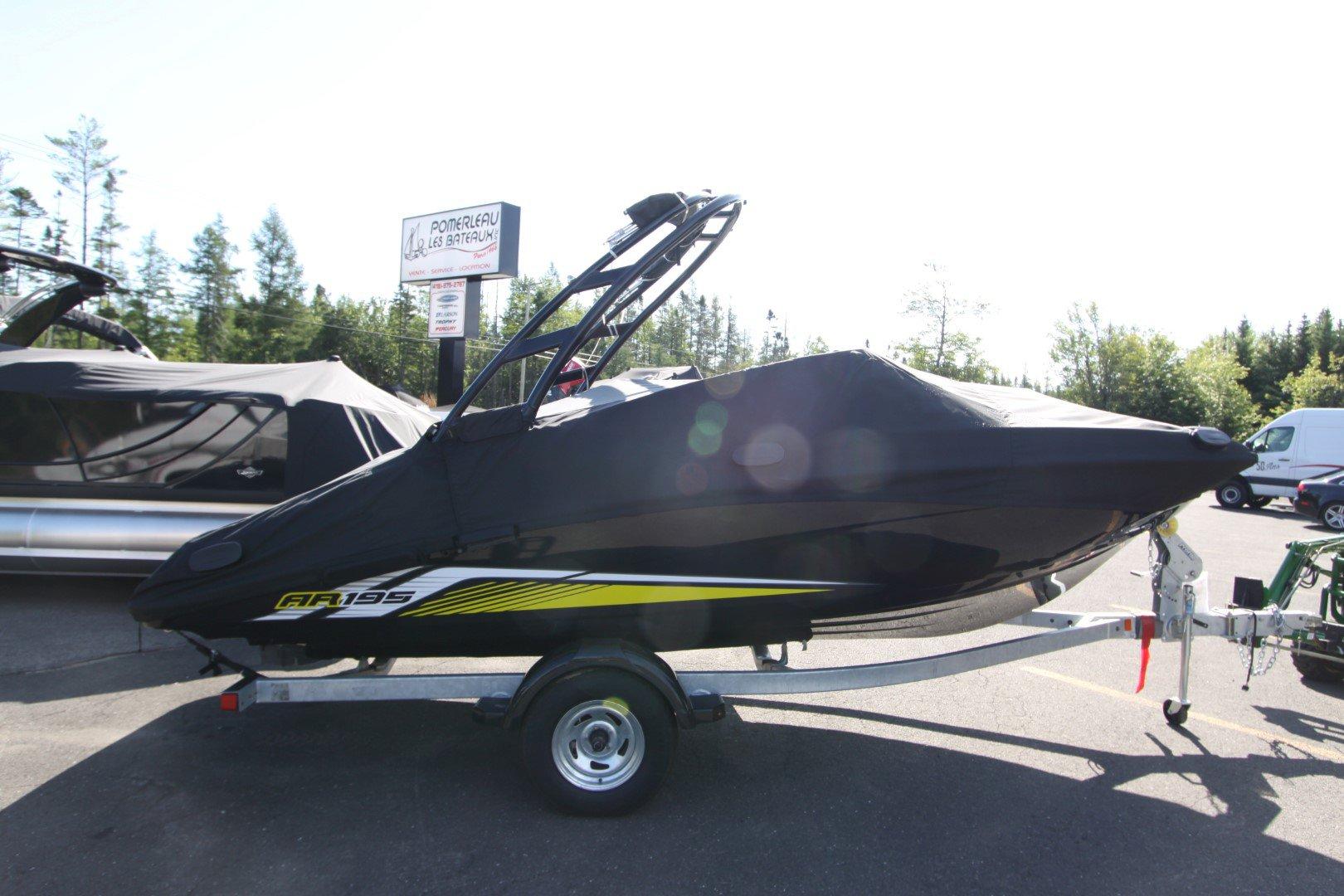 Yamaha AR 195 - IMG_6887