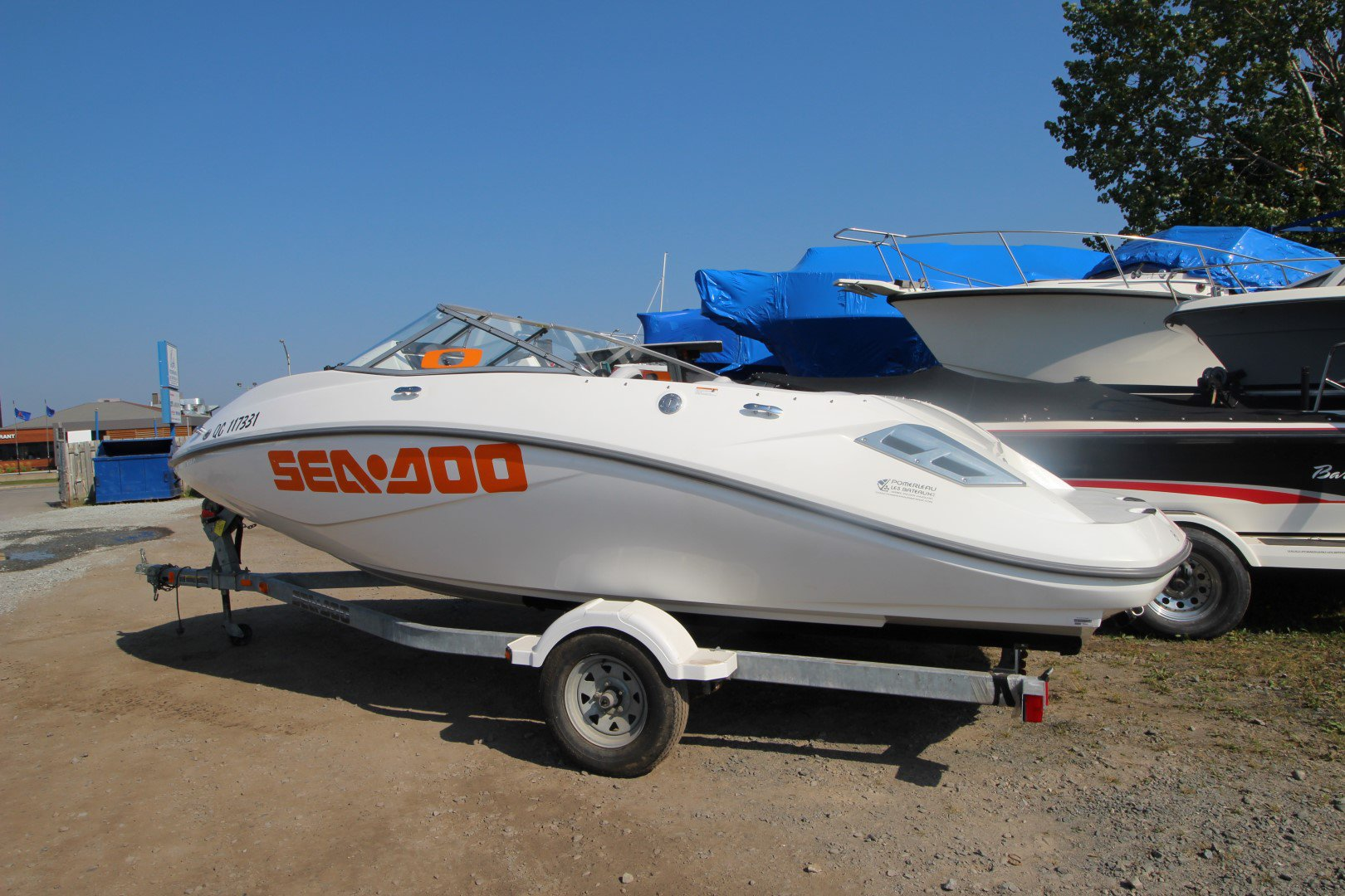 BRP Sea doo Challenger 180 - IMG_2248
