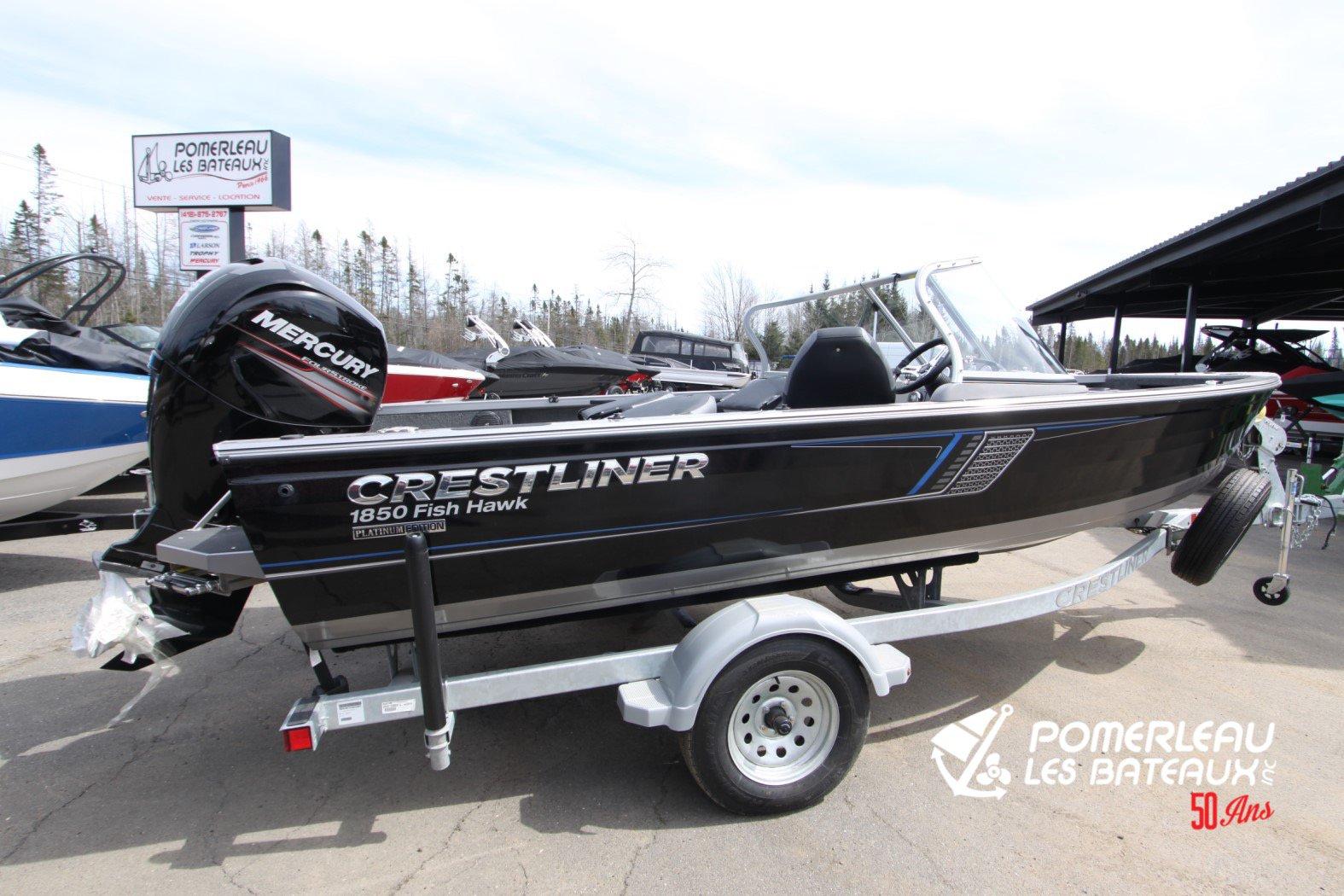 Crestliner Fish Hawk 1850 Platinum - IMG_2283