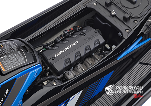 Yamaha VXR - 2018-VXR-Blue_Engine