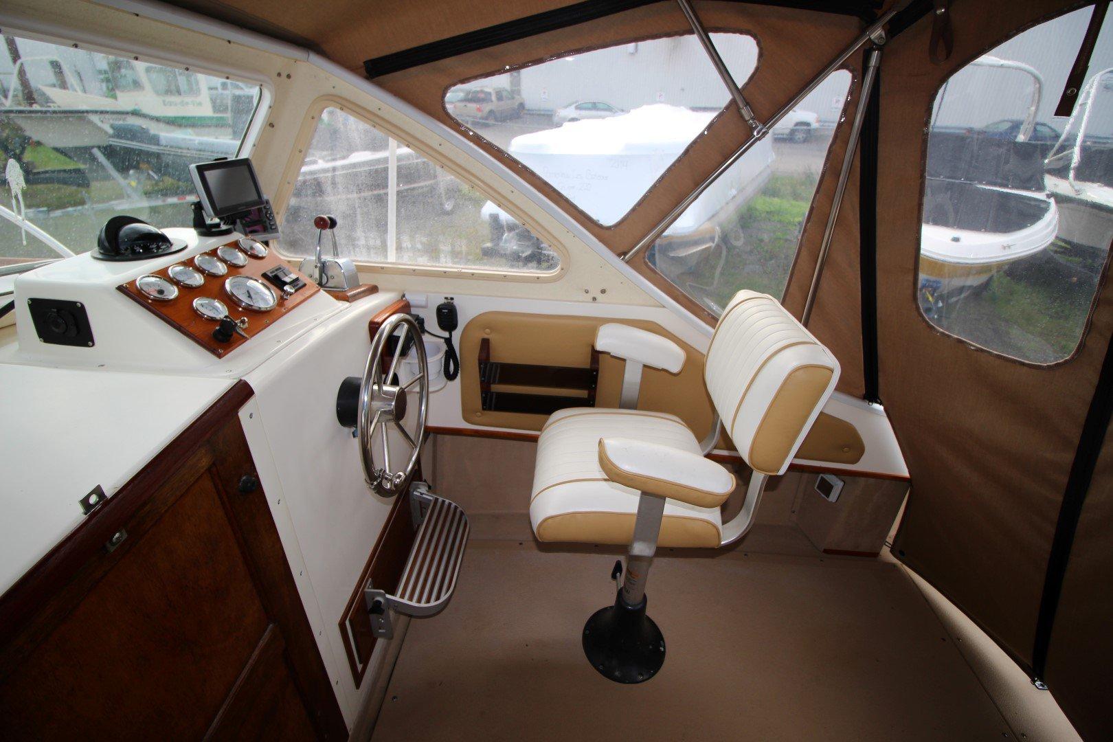 Sisu  Islander Cuddy 22 - IMG_2064