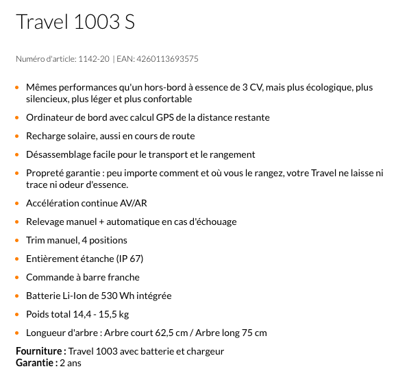 Torqeedo Travel 1003C - Capture d'e�cran 2017-05-28 à 22.05.49