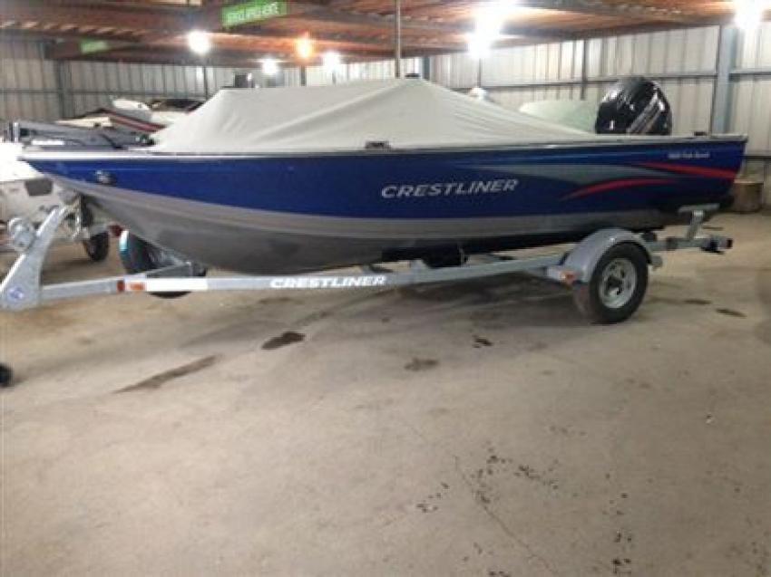 Crestliner Inc Fish Hawk 1600 - 32180