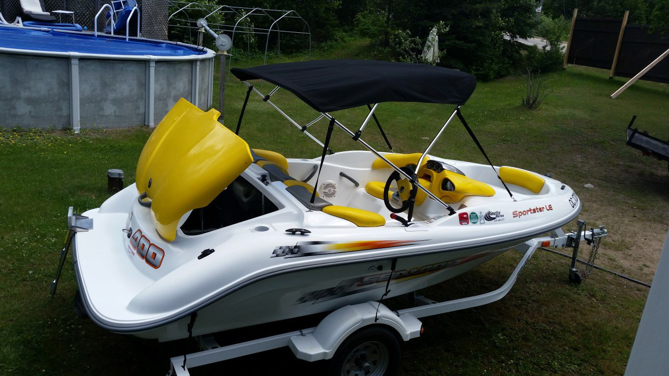 BRP Sea doo Sportster LE - 20160703_134024