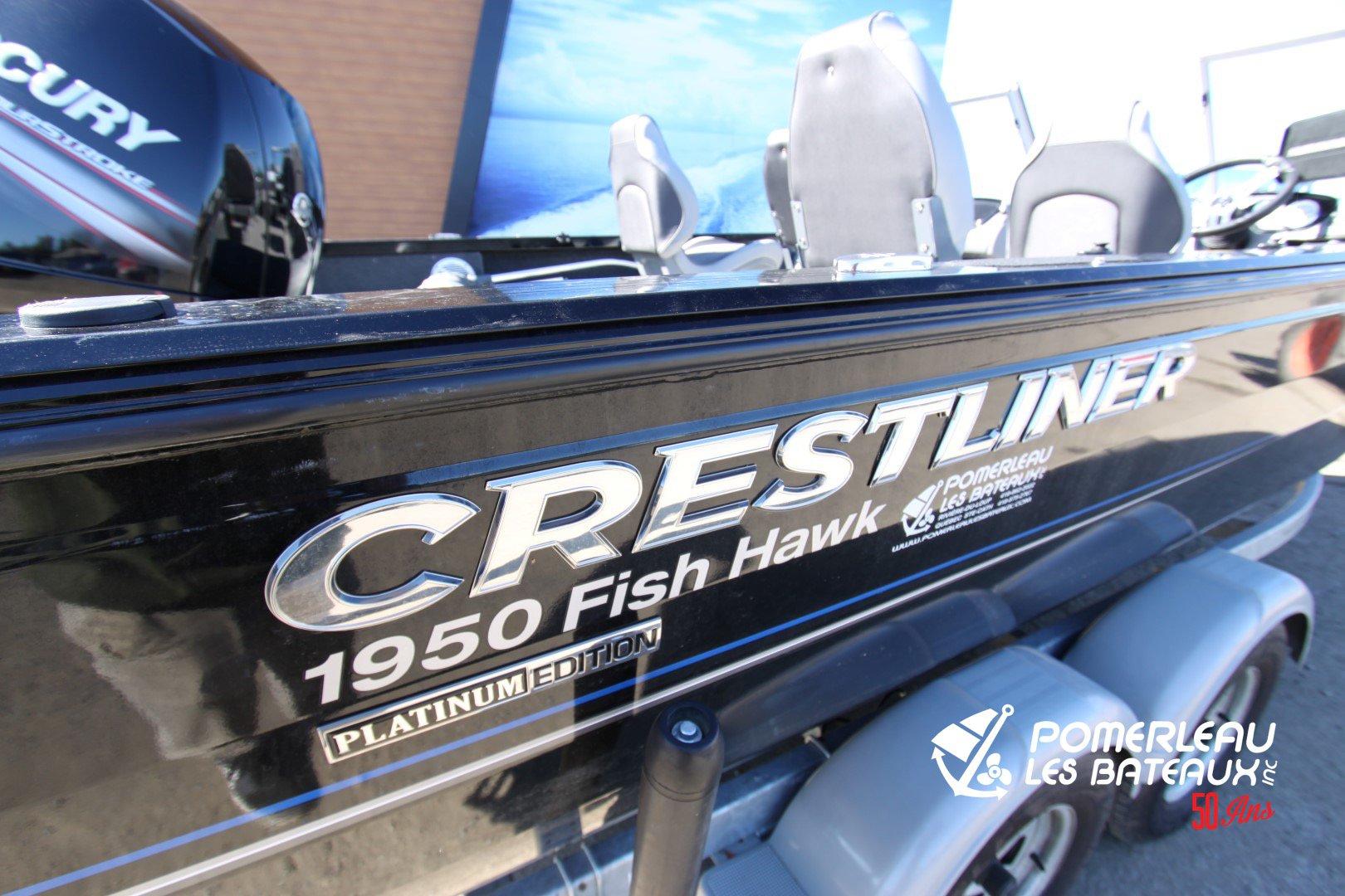 Crestliner Fish hawk 1950 Platinum WT - IMG_5708