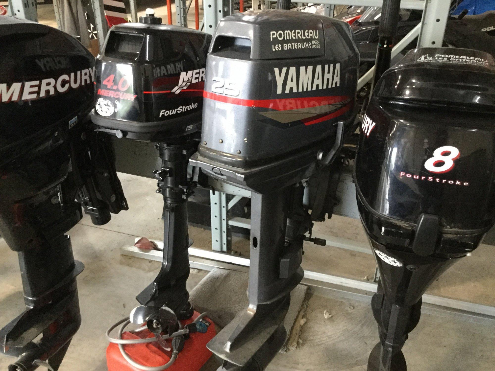 Yamaha 25 Tiller - IMG_1644