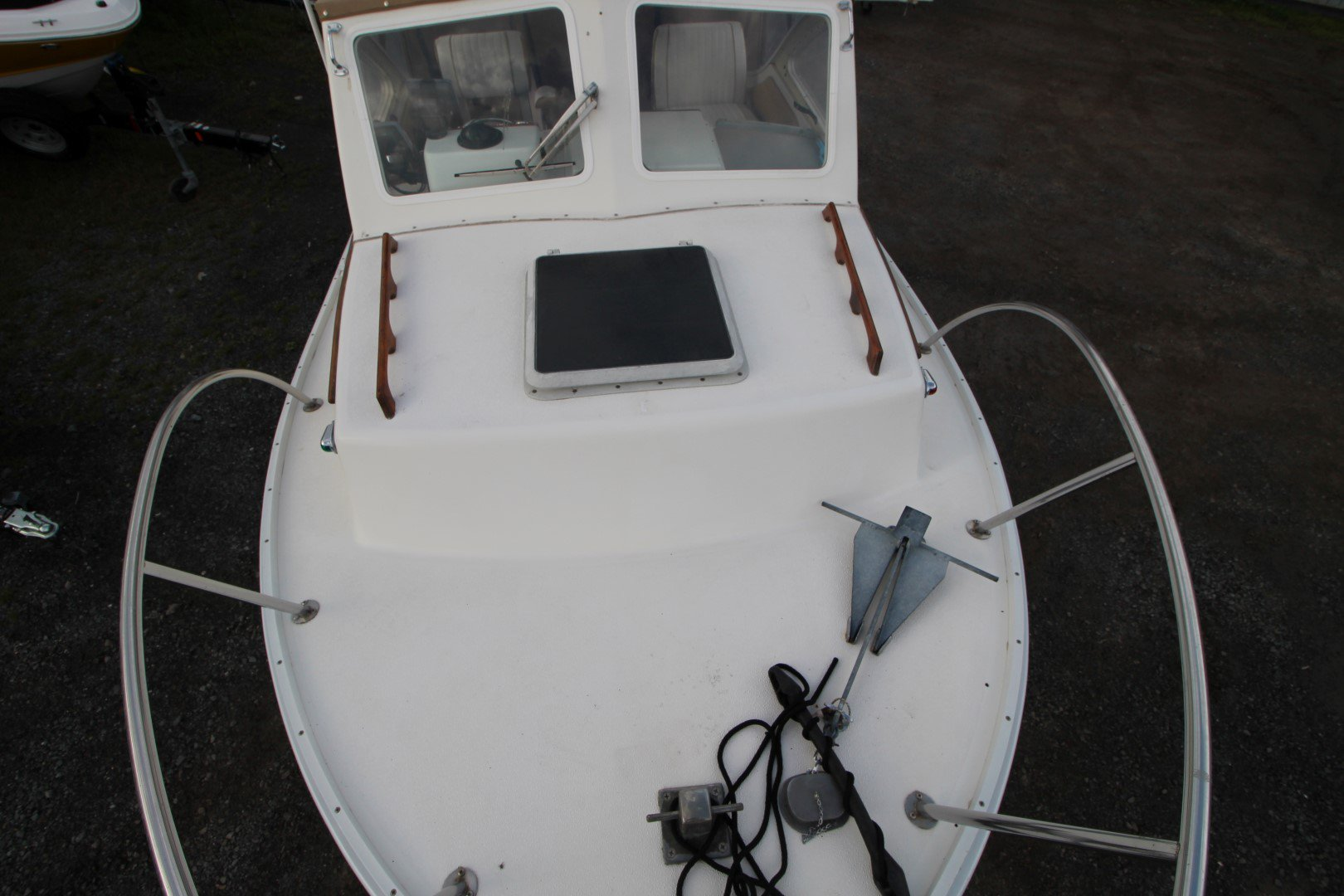 Sisu  Islander Cuddy 22 - IMG_2071