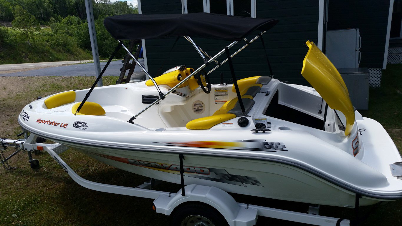 BRP Sea doo Sportster LE - 20160703_133730