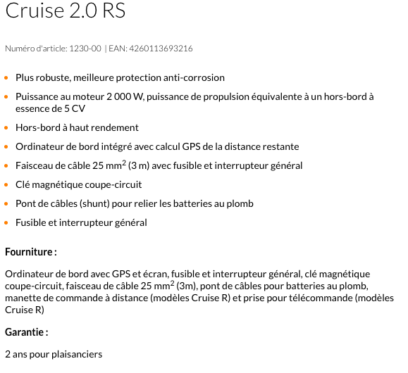 torqeedo cruise 2 0r