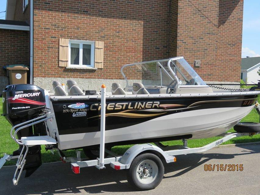 Crestliner 1650 Sport Angler - photo 1