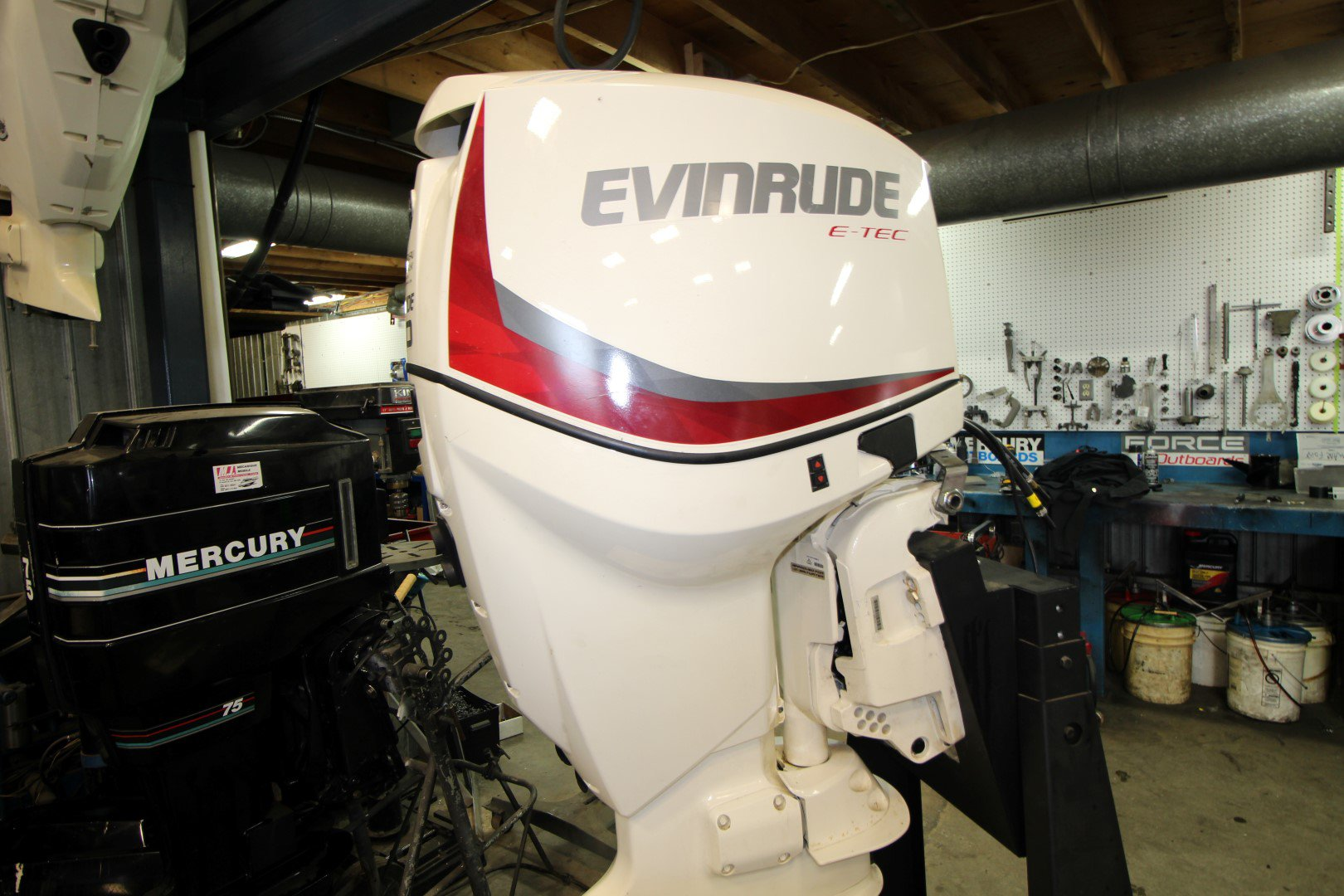Evinrude 150 HP INJECTION DIRECTE - IMG_1044