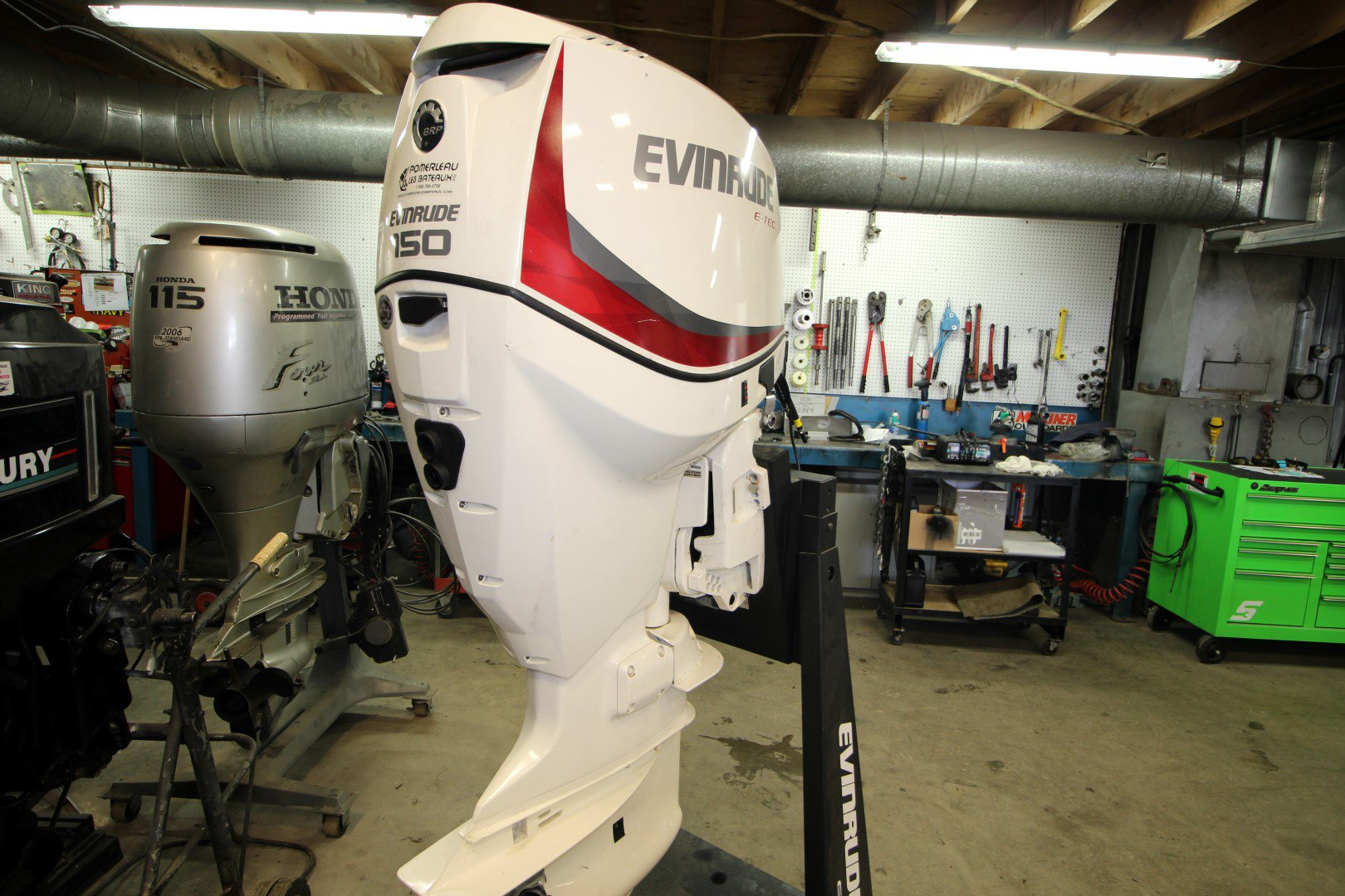 Evinrude 150 HP INJECTION DIRECTE - IMG_1043